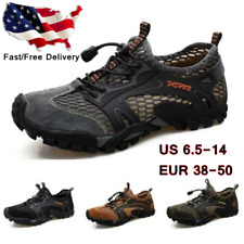 Men's Fashion Outdoors Water Shoes Trail Hiking Breathable Antiskid Sports Shoes