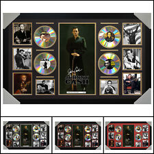 Johnny Cash 4 CD Signed Framed Memorabilia LTD  Large - Multiple Variations - V1