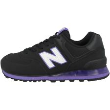 New Balance WL 574 EUA Schuhe Sneaker Freizeit Turnschuhe black purple WL574EUA