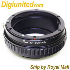 Canon EOS EF lens to Canon EOS R RF mount mirrorless macro helicoid adapter