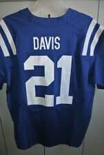 Indianapolis Colts #21 Vontae Davis 2016 Home Jersey Nike On Field Mens 48/Mint