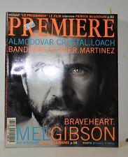 PREMIERE MAGAZIN 10/95  - MEL GIBSON - BANDERAS CLAVIER MARTINEZ (P88)