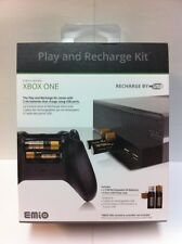 Brand NEW 4 Port USB Power Hub w/2 USB AA Rechargeable Battery for Xbox One