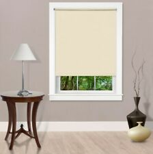 NEW Achim Cordless Room Darkening Telescopic Width Vinyl Window Shade - IVORY