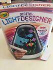 NEW Crayola Digital Light Designer Stylus Spinning Light Canvas
