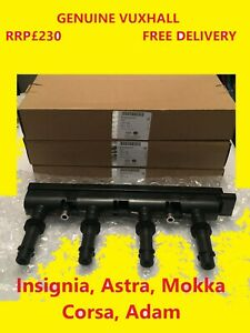 Genuine Vauxhall Insignia Astra Mokka Corsa Adam  Ignition Coil Pack 95528319