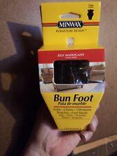 Minwax  3.25 in. H Tulip  Wood  Bun Foot 4 in lot