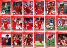 Liverpool FC 1986 FA Cup winners football trading cards