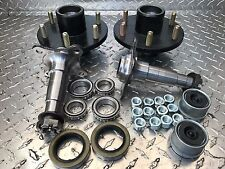 "TRAILER AXLE KIT - 3.5K, 3500 lb, Idler, 6 on 5.5"",E-Z Spindles Build An Axle"