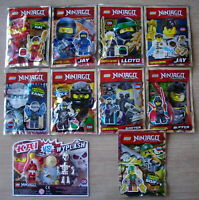 Lego Ninjago Mini- Figuren im Polybag OVP 10 verschiedene Zane Cole Lloyd Jay ..