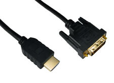 Quality 10M DVI to HDMI Cable Featuring Dual Link DVI-D