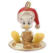Lenox Tweety Eating Cookies Figurine Ornament Bird Looney Tunes Christmas New