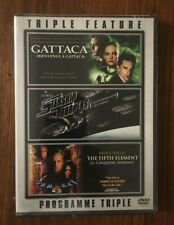 Gattaca, Starship Troopers, The Fifth Element Triple Feature Dvd *Brand New*