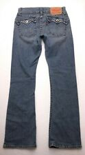 D512 Levis 504 SLOUCH Tilted Pocket Low Rise Twisted Flare Jeans 7 M (28x30.5)