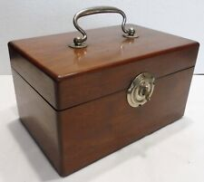 Exceptional Carry Box Wood Medics 19th Century Medicine Nurse