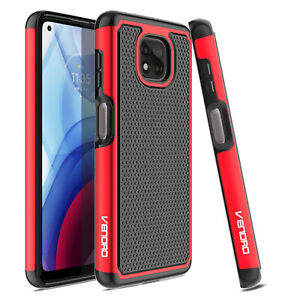 For Motorola Moto G Power/Play/Stylus 2021 Shockproof Phone Case/Tempered Glass