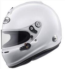Arai GP-6S (M6) White S SA2010 Car Racing Helmet