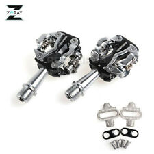ZERAY Cycling Road Bike MTB Clipless Pedals ZP-108S SPD Compatible Pedals Black