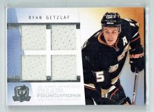 09-10 UD The Cup Foundations  Ryan Getzlaf  /25  Quad Jersey