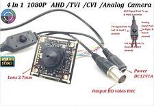 CCTV HD-AHD/TVI/CVI/CVBS 4 IN 1 2.0MP1080P OSD Pinhole Spy Lens 3.7mm Camera