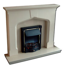 plaster fire surround  ideal for stoves wood burner  none flamable