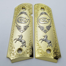 Custom Metal Grips gold silver