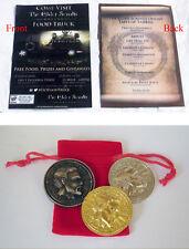 Elder Scrolls Oblivion Imperial Septim Coin collection & ESO Truck Invitation