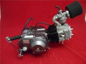 Lifan 125cc Big Valve Semi Auto Pit Bike Engine Carb & BBR Manifold Old Style