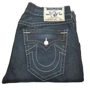 Vtg True Religion World Tour Mens Denim Jeans Size 40×30 EUC💥