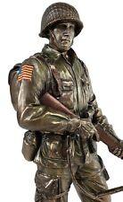 Unicorn Studios WU76815A4 Honor & Courage American Soldier Statue