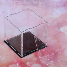Acrylic Display Case Dust-proof Show Box for Plane Car Boat Model 6*6*6inch