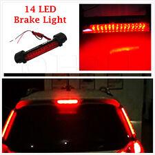 UNIVERSALE LED 12V Auto Posteriore Terzo Stop Coda Freno Luce Montaggio alta veicolo Rosso