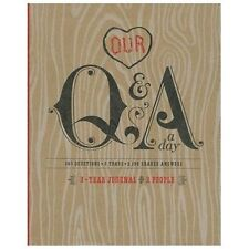 Q&a a Day: 3-Year Journal for 2 People by Potter Style (2013, Diary, Journal,...