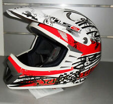 CASCO MOTO CROSS DREAM MAKER LS2 GLOS WHITE TG. XL
