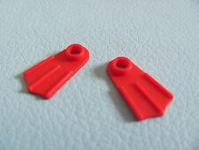 LEGO 2599 @@ Minifig, Footgear Flipper @@ RED @@ ROUGE