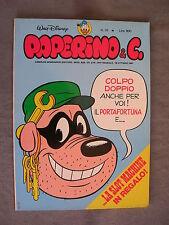 PAPERINO E C. #  16 - 18 ottobre 1981 - CON INSERTO - WALT DISNEY - OTTIMO
