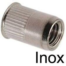 ECROU A SERTIR insert taraudé INOX A2 - RIVKLE - M8 (2)