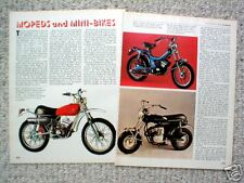 Old CIMATTI MoPEDS / MINI-BIKE Article/Photos/Picture's