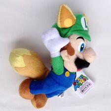 "Super Mario Bros. Plush Raccoon Kitsune Fox Luigi Tail Fly Toy Stuffed Animal 8"""
