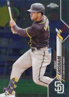 Trent Grisham 2020 Topps Chrome Update Rookie Card RC #U-34 San Diego Padres