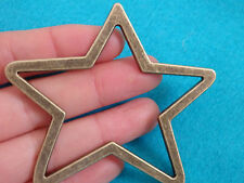 1 Grande Star Charms Pendentifs Bronze Antique Bijoux Making Wholesale UK Craft
