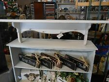"""WOOD SHELF    36""""   PRIMITIVE   with small pegs"""