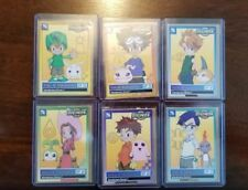 1999 DIGIMON FOX KIDS INTRODUCTORY SERIES 1 PROMO DIGI-DESTINED 6 CARD SET RARE