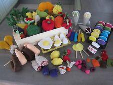 Kaufmannsladen Kaufladen Kinderküche Gehäkelt Warenkorb Selber  Zusammenstellen