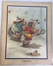 Vintage Gary Patterson Interference Tennis 1980 Collection 81120