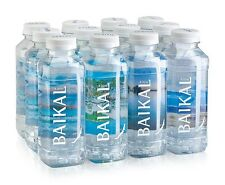Purest Drinking Water of Deep Lake Baikal pack of 12 x 0.45L (12 x 15 fl.oz.)