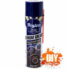 BOSTON Lithium Grease Spray All Purpose Lubricant Lubrication Oil  Spray 400g