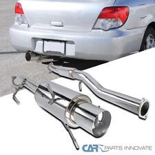 For 02-07 Subaru Impreza WRX STI Replacement S/S Catback Exhaust Muffler System
