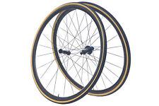Tune Skyline Road Bike Wheel Set 700c Carbon Tubular Shimano 11 Speed