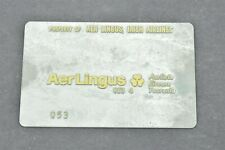 Aer Lingus Irish Airlines Validation Plate